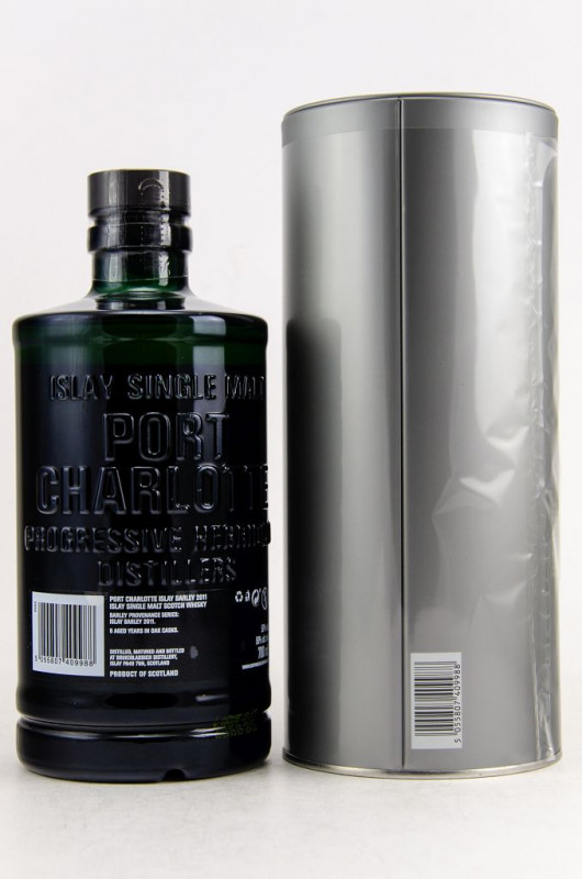 Port Charlotte 2011 Islay Barley back