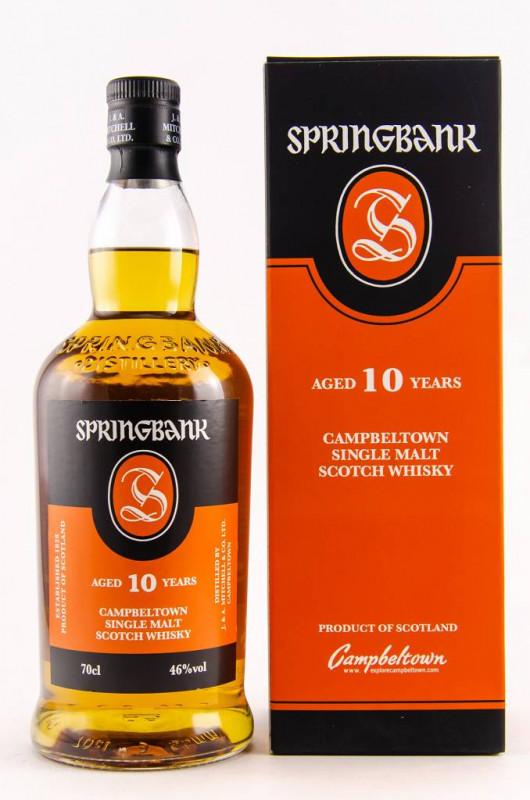 Springbank 10 Jahre front